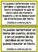 Grade 4 ELA Common Core Standards in Spanish
