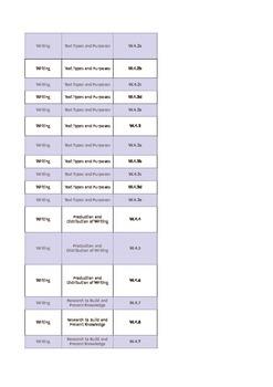 Grade 4 ELA Literacy Standards