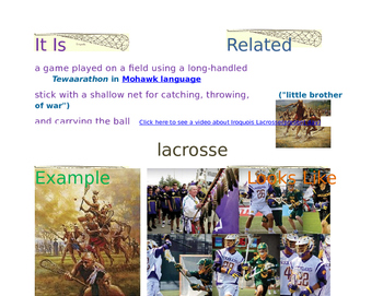 Grade 4 ELA MOD 1A UNIT 2 LESSON 9 VOCABULARY in FRAYER MODEL videos images