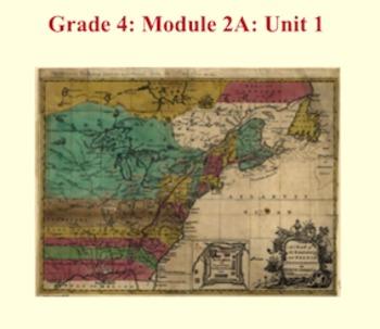 Grade 4 ELA Module 2A Unit 1 - All Lessons