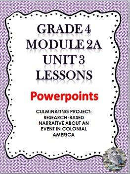 Grade 4 ELA Module 2A Unit 3  Powerpoints