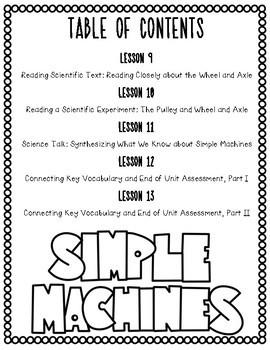 Grade 4 ELA Module 3A Student Workbook (Unit 2- Simple Machines: Force & Motion)