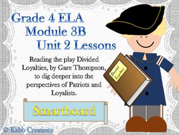 Grade 4 ELA Module 3B Unit 2 Lesson Bundle for Smartboard!