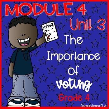 Grade 4 ELA Module 4 Student Workbook (Unit 3- The Importa