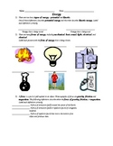 Grade 4 Elementary - Level Science Test Review Packet