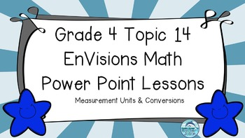 Grade 4 EnVisions Math Topic 14 Common Core Aligned Power Point Lessons