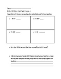 Grade 4 EnVisions Math Topic 5 Skills Checks