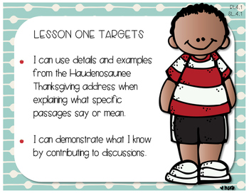 Grade 4 EngageNY ELA Module 1A Standards and Targets I Can Posters Engage NY
