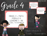 Grade 4 EngageNY Eureka Math Module 3 I Can Posters with S