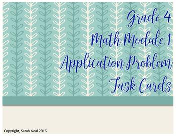 Grade 4 EngageNY Math Module 1 Application Problem Task Ca