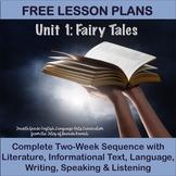 Fourth Grade English Language Arts Lesson Plans Unit 1 - F