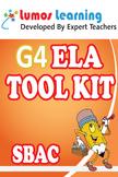 Grade 4 English Language Arts (ELA) Tool Kit for Educators