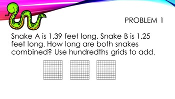Grade 4 Envisions Math Common Core Step Up to Grade 5 Inspired Power Points