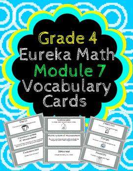 Grade 4 Math Module 7 Vocabulary Cards