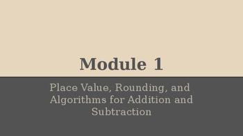 Grade 4 Eureka Math fluency power point Module 1 Lesson 17