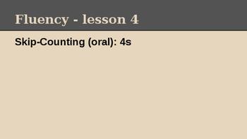 Grade 4 Eureka Math fluency power point Module 1 Lesson 4