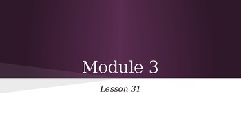 Grade 4 Eureka Math fluency power point Module 3 Lesson 31