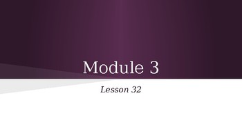 Grade 4 Eureka Math fluency power point Module 3 Lesson 32
