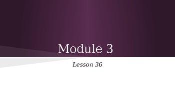 Grade 4 Eureka Math fluency power point Module 3 Lesson 36