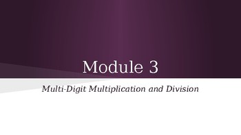 Grade 4 Eureka Math fluency power point Module 3 Lesson 4
