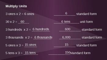 Grade 4 Eureka Math fluency power point Module 3 Lesson 5