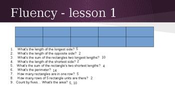 Grade 4 Eureka Math fluency power point Module 3 Lessons 1-38