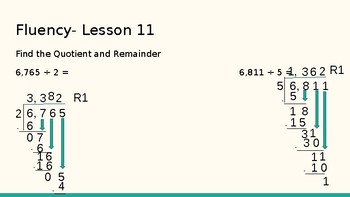 Grade 4 Eureka Math fluency power point Module 5 Lesson 11