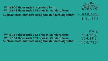 Grade 4 Eureka Math fluency power point Module 5 Lesson 12