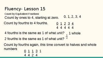 Grade 4 Eureka Math fluency power point Module 5 Lesson 15
