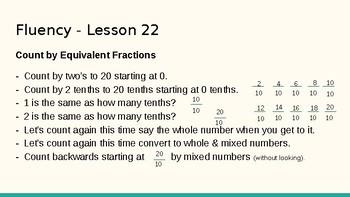 Grade 4 Eureka Math fluency power point Module 5 Lesson 22