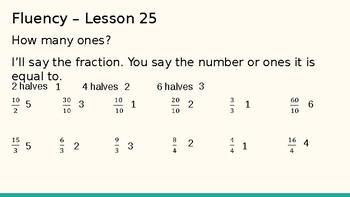 Grade 4 Eureka Math fluency power point Module 5 Lesson 25
