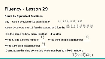 Grade 4 Eureka Math fluency power point Module 5 Lesson 29