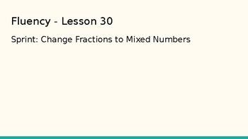 Grade 4 Eureka Math fluency power point Module 5 Lesson 30