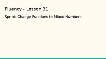 Grade 4 Eureka Math fluency power point Module 5 Lesson 31