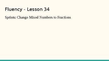 Grade 4 Eureka Math fluency power point Module 5 Lesson 34