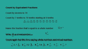 Grade 4 Eureka Math fluency power point Module 5 Lesson 40
