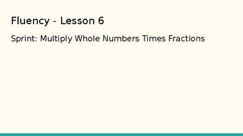 Grade 4 Eureka Math fluency power point Module 5 Lesson 6