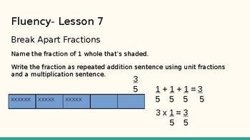 Grade 4 Eureka Math fluency power point Module 5 Lesson 7