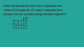 Grade 4 Eureka Math fluency power point Module 5 Lesson 9