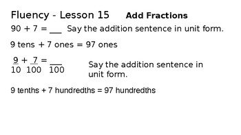 Grade 4 Eureka Math fluency power point Module 6 Lesson 15