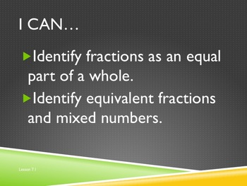 """Grade 4 Everyday Math """"I Can"""" Statements Vol 2"""