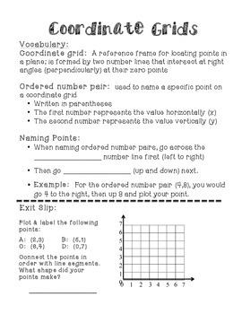 Grade 4 Everyday Math Unit 6 Interactive Notebook