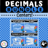 Grade 4 - FRACTIONS AND DECIMALS BUNDLE - 4.NF.C