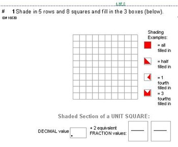 Grade 4 FRACTIONS BUNDLE (9+ units covering ALL of Domain NF)