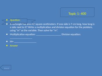 Grade 4 FSA Math Review