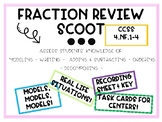 Grade 4 Fraction Scoot Game and Task Cards!