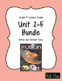 Grade 4 Fusion Notes Bundle (Units 2-5)