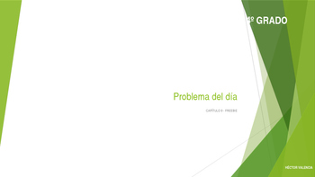 Grade 4 - GO MATH! Ch.9 Problem of the day (Spanish) / FREEBIE