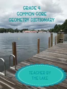 Grade 4 Geometry Vocabulary Dictionary