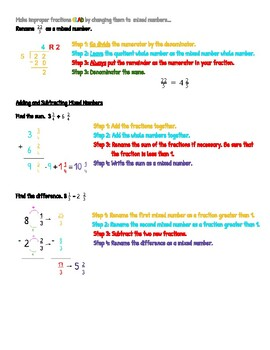 Grade 4 Go Math Chapter 7 Reference/Review Sheet